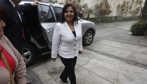 Mañana es la presentación de investidura de la premier Ana Jara. (Mario Zapata)