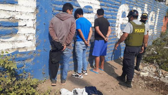 La Libertad: Detienen a tres sujetos que asaltaban mujeres en un mototaxi. (GEC)