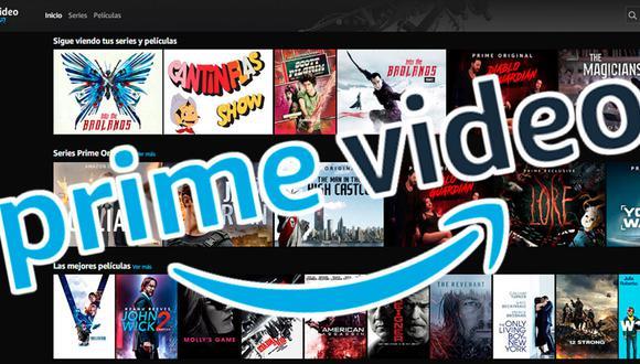 Amazon Prime Video es un servicio para ver películas y series gratis creados por Amazon.com. (Foto: captura)