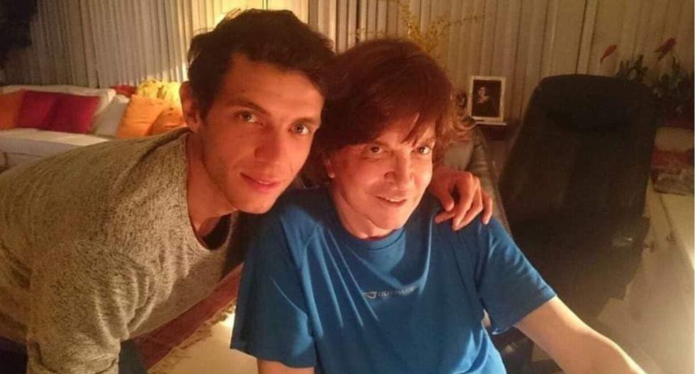 Camilo Sesto y su hijo (Foto: @camiloblanesmexico)