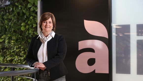 Malena Morales, vicepresidenta de asuntos corporativos de Alicorp. (Foto: Manuel Melgar/Archivo GEC/2019)