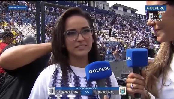 Daniela Darcourt y su curiosa respuesta sobre el resultado de la final. (Captura)