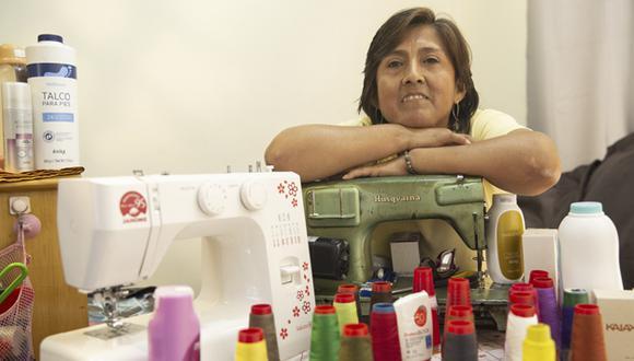 """Gladys Castro se define como """"todóloga"""". Es una emprendedora de la vida. (Fotos: José Rojas)."""