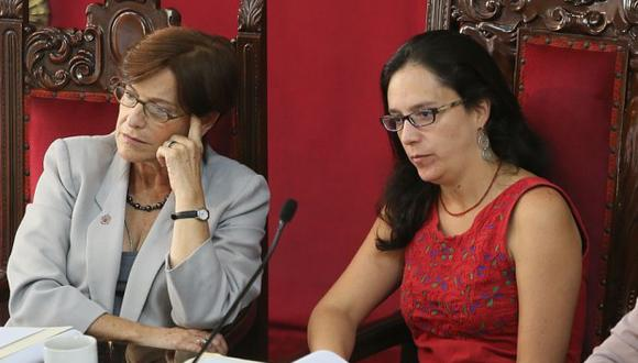 """Glave destacó que se esté """"procediendo como en los demás casos"""" con la ex alcaldesa de Lima. (Foto: GEC)"""