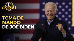 Joe Biden juramenta como presidente de EE.UU.