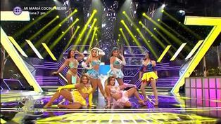 'Princesas de cuento' deslumbraron en primer baile grupal de la noche en 'Reinas del show'