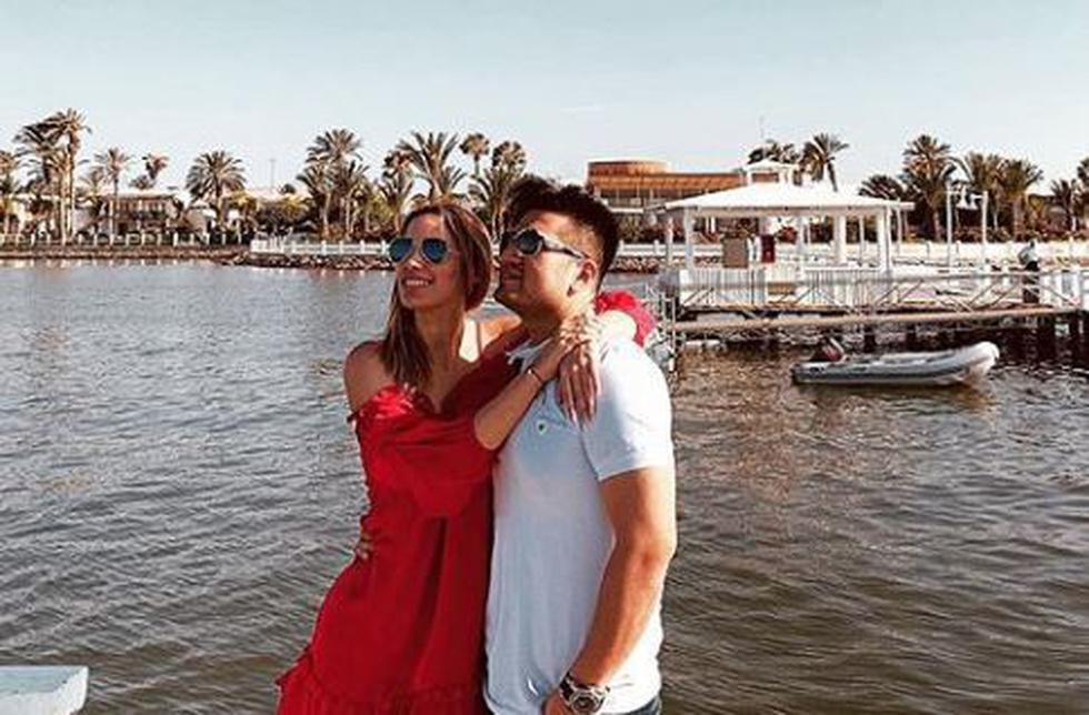 La hija de Jessica Newton aseguró que pasa por una etapa muy linda con el cantante de cumbia. (Instagram)