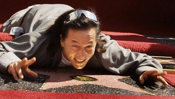 Jackie Chan evalúa adaptar el manga y el anime creados por el artista japonés Akira Toriyama. Foto: Lee Celano / AFP)