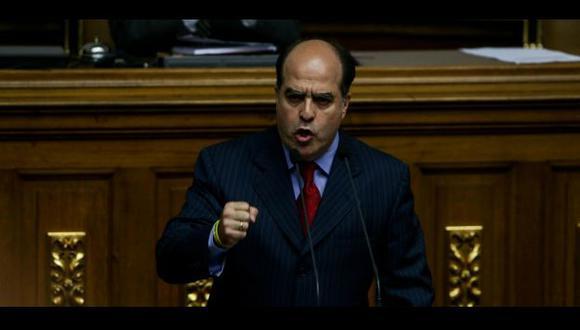 Julio Borges, presidente de la Asamblea Nacional de Venezuela (El Billuyo).