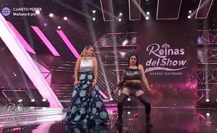 Gisela Valcárcel se luce bailando al estilo 'Alma Bella' con ayuda de Yolanda Medina