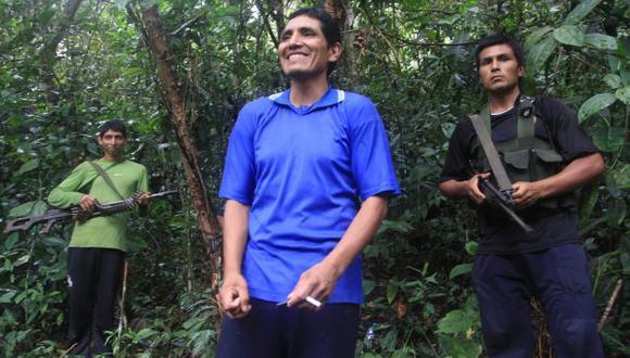 MAYOR PRESENCIA. El 'camarada Gabriel' hace de las suyas en la zona de Echarate, pese a la presencia militar. (USI)