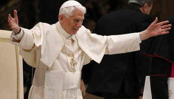 Benedicto XVI se va este 28. (Reuters)