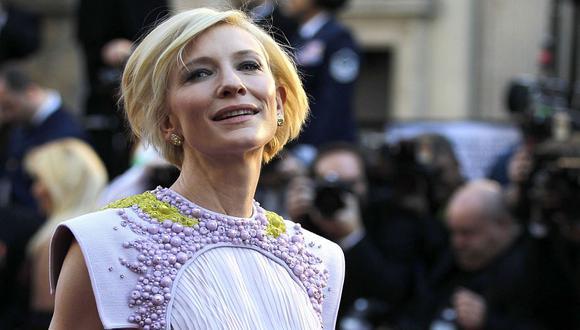 La oscarizada Cate Blanchett, quien tiene tres hijos. (AP)