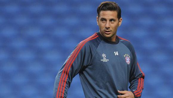 Ante la lesión de Pizarro, la carta de ataque del Bayern será el croata Mandzukic. (EFE)