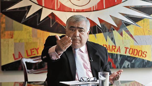 Enrique Ghersi. Abogado constitucionalista y exdiputado. (Renzo Salazar)
