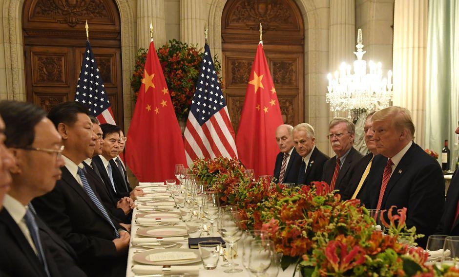 La cena entre Donald Trump y Xi Jinping fue el encuentro más esperado en todas partes del mundo. (Foto: AFP)