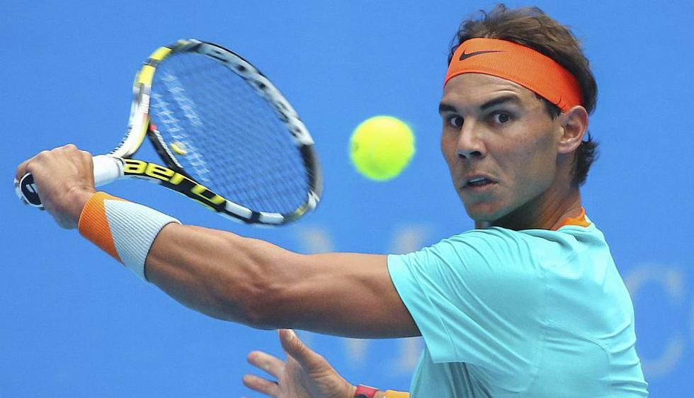Rafael Nadal volvió a las competencias individuales con un triunfo sobre el francés Richard Gasquet en la primera ronda del Abierto de China. (EFE)