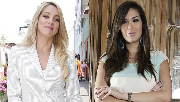 Sofía Franco y Silvia Cornejo se pelearon durante la emisión de Al Aire. (USI)