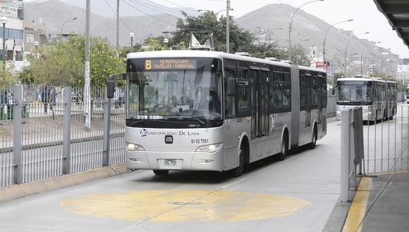 Por primera vez el transporte urbano de Lima y Callao estará bajo la administración de una sola entidad que es la ATU. (Foto: Diana Marcelo)