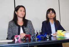 "Giulliana Loza: Keiko Fujimori se encuentra ""estable bajo control del cardiólogo"""