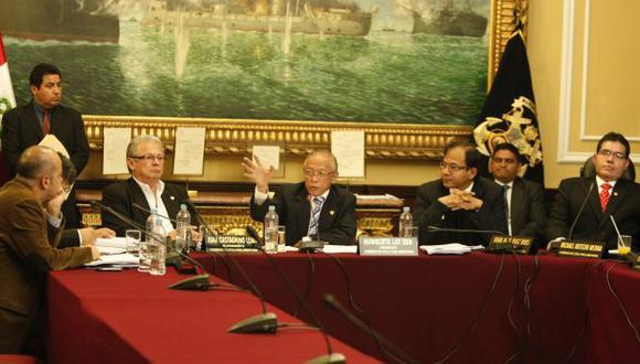 MANO FIRME. La Comisión de Ética no titubeó para pedir la máxima sanción para tres de sus colegas. (Luis Gonzáles)