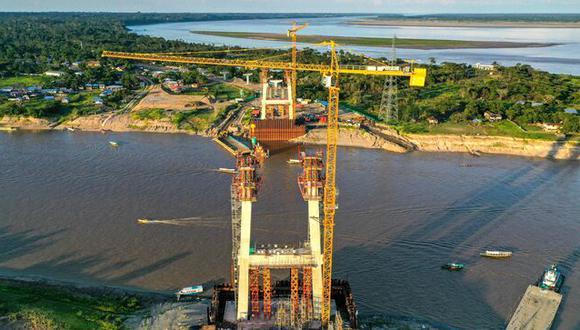 La superestructura tendrá una longitud total de 2.3 kilómetros que incluyen el puente atirantado de 437.60 metros y dos viaductos de 1 184 y 319.90 metros cada uno.