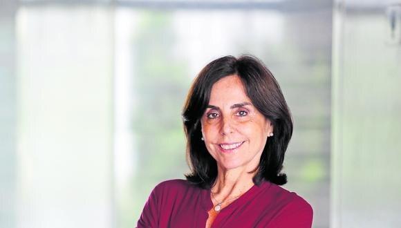 Patricia Arévalo, candidata a la Vicepresidencia de Victoria Nacional. (Foto: GEC)