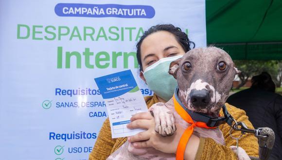 Después del 'Vacunapet', habrá más campañas de vacunación para mascotas durante todo el mes de octubre. Foto: Municipalidad de Surco