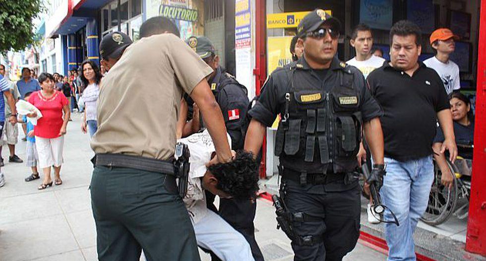 En ese periodo se intervinieron a 743 pandilleros. (Perú21)