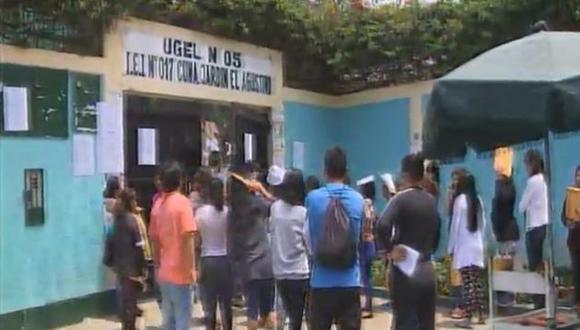 El centro educativo en cuestión era la Cuna Jardín 017 El Agustino, perteneciente a la UGEL N° 5. (América TV)