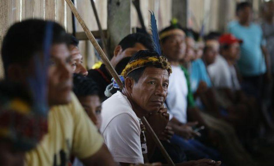 Comunidad de Saramurillo inició el bloque en el oleoducto desde hace más de una semana. (GEC)