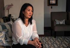 """Keiko Fujimori afirma que en un eventual gobierno suyo convocará a un """"gabinete multipartidario"""""""