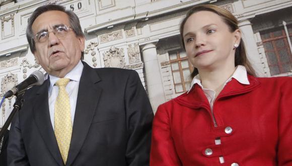 Congresista del Apra podrían votar en contra de la vacancia presidencial. (Perú 21)