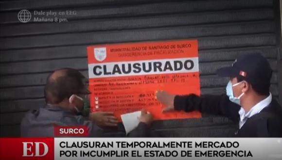 Según el municipio, no tenían los certificados de haber pasado por pruebas de descarte de coronavirus. (Foto: Captura América Noticias)