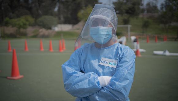 Máxima protección para los profesionales de la salud.