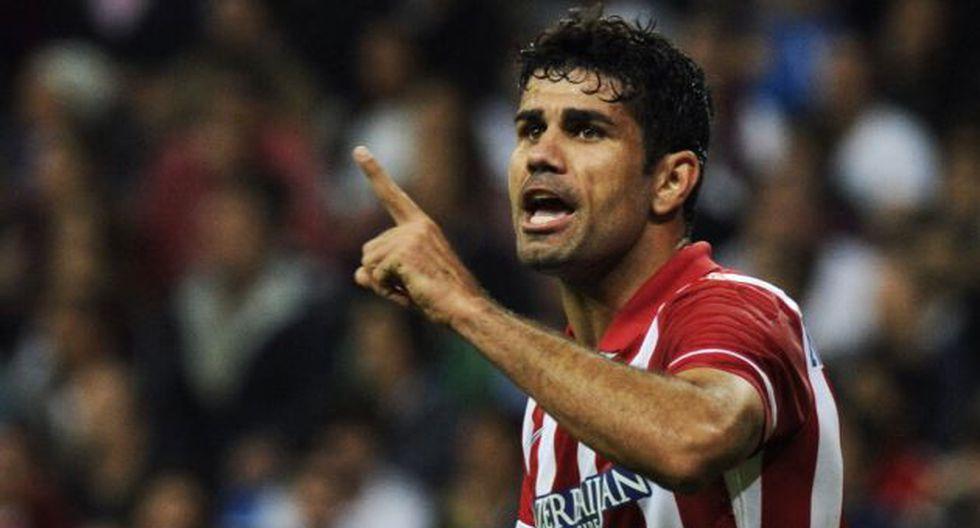 Diego Costa le puso fin a la polémica sobre la selección que defenderá. (AFP)