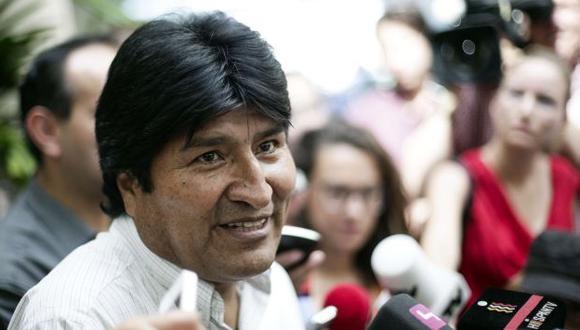 Evo Morales saludó resolución de la OEA hacia Europa tras el impasse diplomático. (AFP)