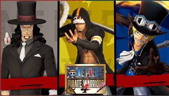 Bandai Namco lanzará 'One Piece: Pirate Warriors 4' para PlayStation 4, Xbox One, Nintendo Switch y PC el próximo 27 de marzo. (Bandai)