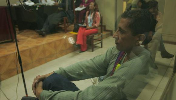 Etnocacerista se dirigió a ronderos etnocaceristas para que aceptaran a Las Palmeras. (Perú21)
