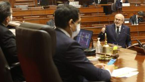 Congreso le negó la confianza al premier Pedro Cateriano (Congreso).