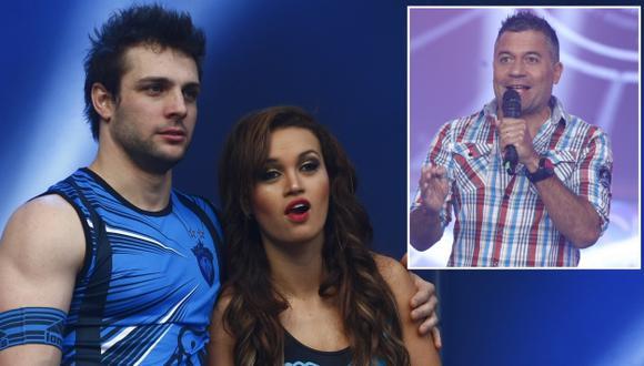 Mathías Brivio descartó que amiste de Angie Arizaga y Nicola Porcella haya sido 'armani'. (USI)