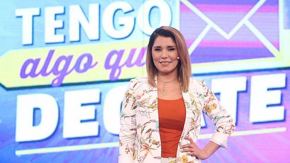 Lady Guillén debutará en la conducción del programa 'Tengo algo que decirte'. (USI)