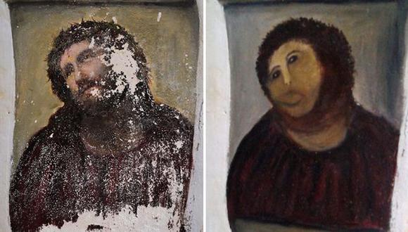 Este es el antes y el después de la 'restauración'. (Difusión)