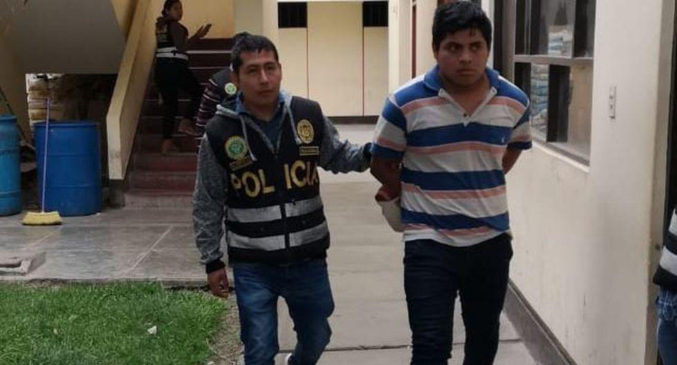 Luis Anthony Martínez Fernández fue capturado en Trujillo.