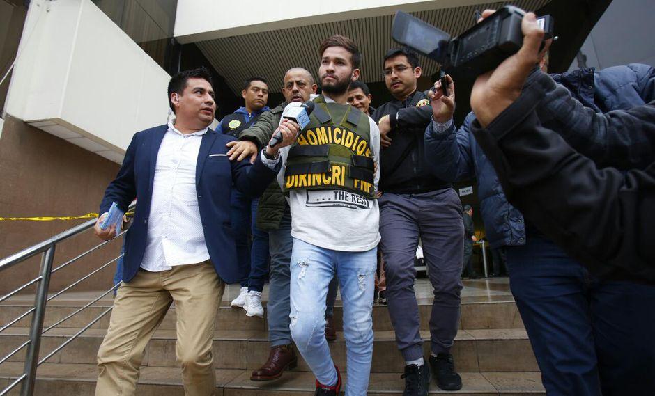 Poder Judicial dictó prisión preliminar por 7 días contra Alexander Salazar Álvarez (Foto: César Grados).