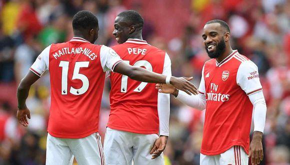 Arsenal vs. Tottenham se miden por la cuarta fecha de la Premier League. (Foto: AFP)