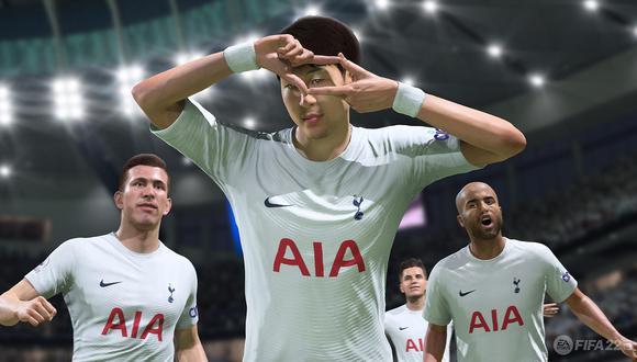 FIFA 22 introducirá una función para evitar ver las celebraciones de gol del rival. (Imagen: EA)