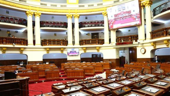 Congreso aprobó en su última sesión la nómina de integrantes de la Comisión de Ética Parlamentaria y de comisiones especiales. (Foto: Congreso)