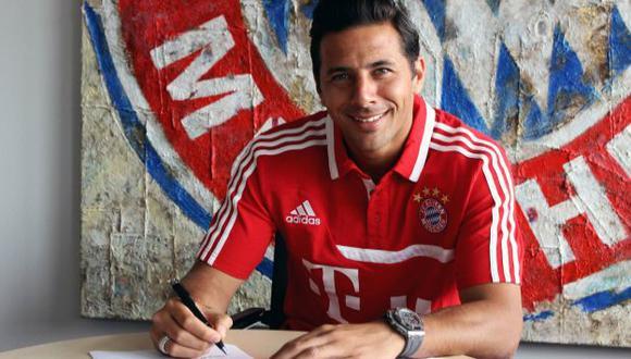 (Facebook Bayern Munich)