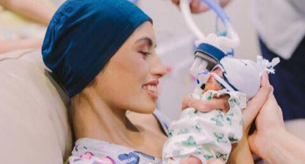 Pese a sus esfuerzos, Brianna Rawlings tuvo que soportar el fallecimiento de su pequeño, a quien prometió luchar contra el cáncer hasta el final. (Foto: Facebook Brianna Rawlings)